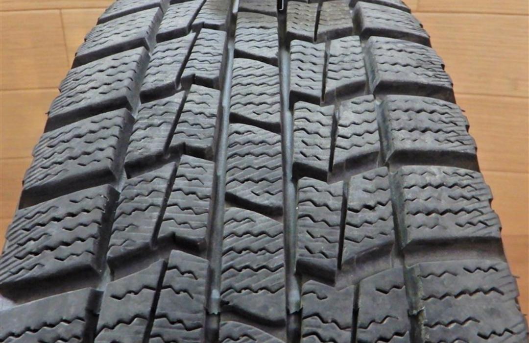 タイヤの摩耗度合いを確認する