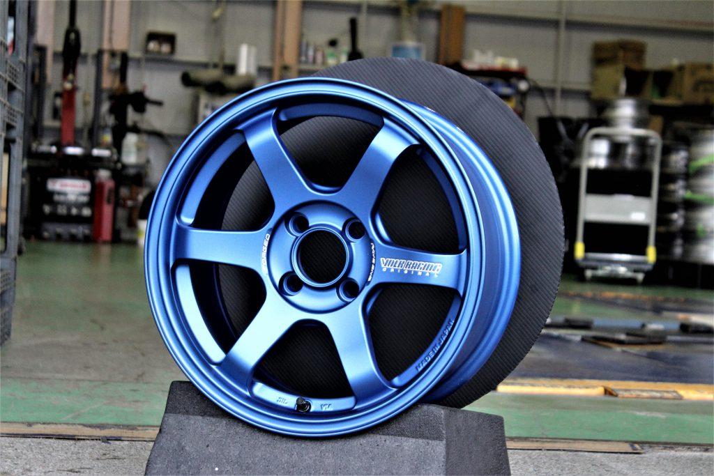 RAYS VOLKRACING TE37SONIC MD/B 鍛造 ホイール ブルー