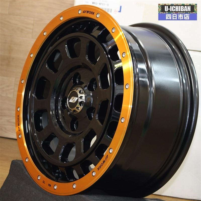 新品 アウトレット 限定品 WORK CRAG T-GRABIC SUNRISE EDITION 16インチ×7.0 +38 5H 114.3 ロック&ナットセット! デリカD:5等に