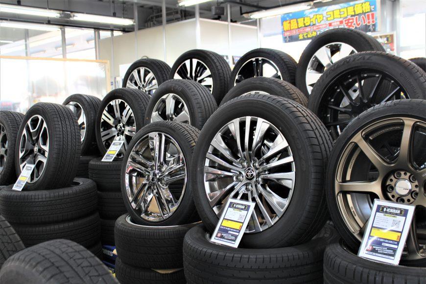 中古スタッドレスタイヤや中古スタッドレスセットならユーイチバン四日市店!!新品タイヤもお任せください!!